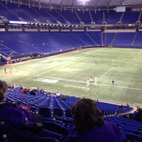 Photo taken at Hubert H. Humphrey Metrodome by Barry F. on 3/2/2013