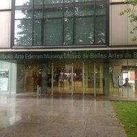 Photo taken at Museo de Bellas Artes de Bilbao by Miguel C. on 6/19/2013