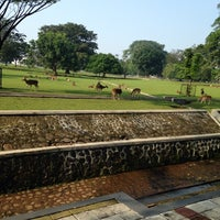 Photo taken at Bogor Palace by Iin U. on 8/3/2014