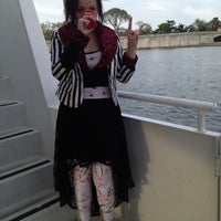 Photo taken at Cherry Blossom Booze Cruise by Bea M. on 4/15/2013