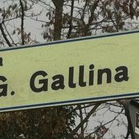 Photo taken at Via Giacinto Gallina by Stefania P. on 2/27/2013