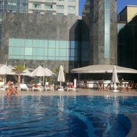 Photo taken at Adana HiltonSA by Selma Ö. on 9/13/2013