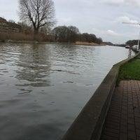 Photo taken at Kanaal Roeselare - Ooigem by Eline on 1/25/2018