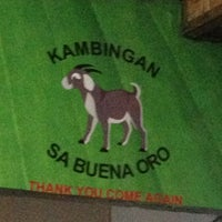 Photo taken at Kambingan Sa Buena Oro by Allen G. on 11/27/2014