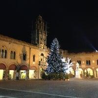 Photo taken at Piazza Guercino by Chiara B. on 12/30/2012