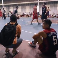Photo taken at Sheltered Basketball Court 有蓋籃球場 by Tommy L. on 7/24/2013