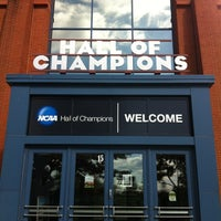Photo taken at NCAA Hall of Champions by Jesse S. on 10/15/2012