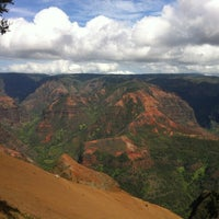 Photo taken at Waimea Canyon Lookout by Mira on 3/21/2013