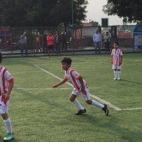 Photo taken at Deportivo Boulevares by Alberto S. on 5/17/2015
