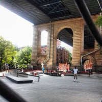 Photo taken at Coleman Playground Skatepark by Oliver S. on 7/7/2013