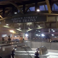 Photo taken at Grove Street PATH Station by Roger B. on 6/10/2014