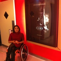 Photo taken at Cinemex by Evelyn E. on 2/4/2013