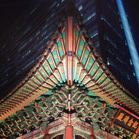 Photo taken at 고종 즉위 40년 칭경기념비 by HyungKi H. on 1/6/2014