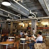 Photo taken at CAFÉ AMOKKA by HyungKi H. on 7/9/2013