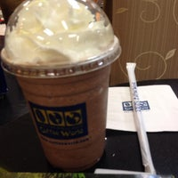 Photo taken at Coffee World by Sgift on 2/16/2014
