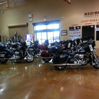 Photo taken at Red Rock Harley Davidson by Ken J. on 1/26/2013