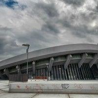 Photo taken at SEF - Peace & Friendship Stadium by Tassos K. on 10/10/2012
