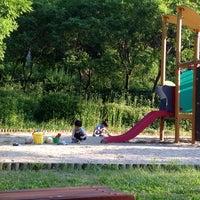 Photo taken at 율동공원 놀이터 by Juyoun S. on 6/14/2014