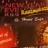 Photo taken at Eefa Hotel by XueNing S. on 12/31/2012