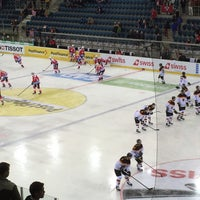 Photo taken at St. Jakob Arena by Wg R. on 5/3/2016