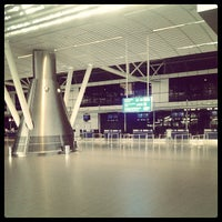 Photo taken at Sofia Airport (SOF) by Oliver G. on 5/24/2013