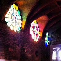 Photo taken at Cripta Gaudí by Maria P. on 4/29/2013