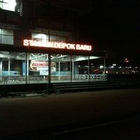 Photo taken at Stasiun Depok Baru by Hadi S. on 8/28/2013