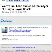 Photo taken at Burry's Noyac Shack by Barry H. on 1/6/2013