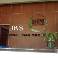 Photo taken at BIM (Bina Insan Mandiri) by Xen B. on 2/1/2013