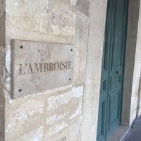 Photo taken at L'Ambroisie by Gabor K. on 8/23/2015