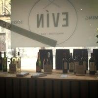 Photo taken at Evín Wine store & bar by Eva L. on 10/4/2013