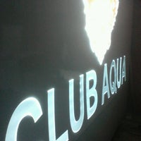 Photo taken at Club Aqua by Nagihan E. on 5/12/2013
