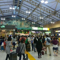 Photo taken at Ueno Station by 祐太朗 (. on 9/21/2015