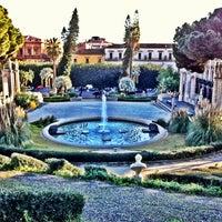 Photo taken at Villa Bellini by Valerio R. on 1/21/2013