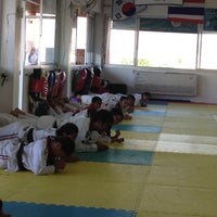 Photo taken at Yodphatiparn Gym by Poong P. on 5/4/2013