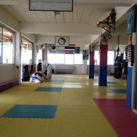Photo taken at Yodphatiparn Gym by Poong P. on 4/20/2013