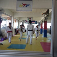 Photo taken at Yodphatiparn Gym by Poong P. on 4/21/2013