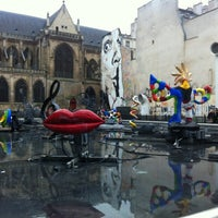 Photo taken at Place Georges Pompidou by Fluffy L. on 1/5/2013