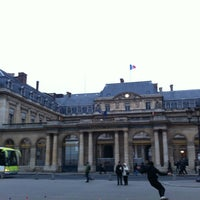 Photo taken at Palais Royal by Fluffy L. on 1/5/2013