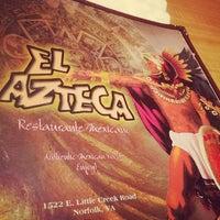Photo taken at El Azteca by Casey S. on 4/7/2014