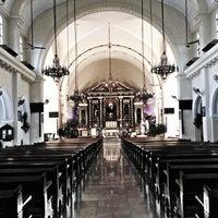 Photo taken at Santuario de San Antonio Parish by Jay Anne W. on 4/4/2013