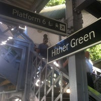Photo taken at Hither Green Railway Station (HGR) by Juan Pablo C. on 7/19/2013