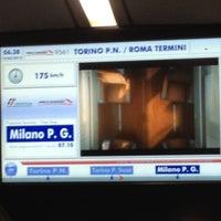 Photo taken at Frecciarossa Torino P. S. - Roma Termini by Ross d. on 2/19/2013