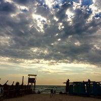 Photo taken at Kudos Beach by Anca P. on 8/17/2017