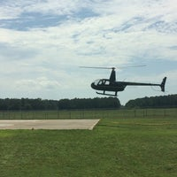 Photo taken at Huffman Helicopters by Rafael S. on 7/8/2016