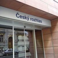 Photo taken at Český rozhlas by Terezka J. on 3/27/2014