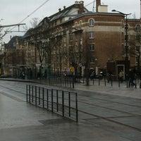 Photo taken at Station Cité Universitaire [T3a] by Altug M. on 1/4/2013