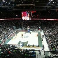 4/4/2013에 Rose M.님이 Žalgirio arena | Zalgiris Arena에서 찍은 사진
