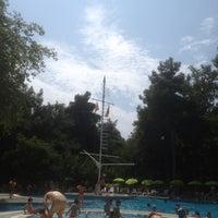Photo taken at tck yüzme havuzu by Ayşen G. on 8/18/2013