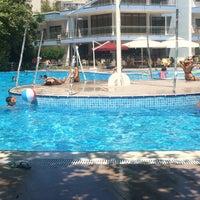 Photo taken at tck yüzme havuzu by Ayşen G. on 8/22/2016